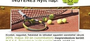 M.E.S.E. Tenisz Nyílt nap 2015